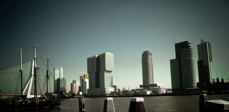 The Skyline of Rotterdam